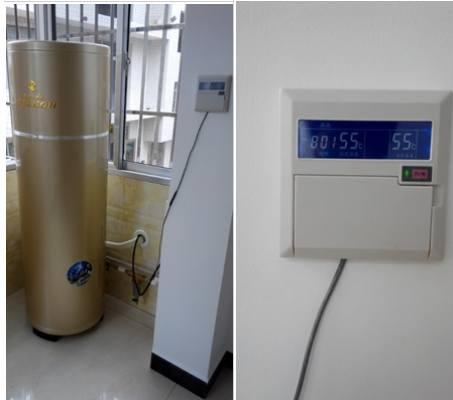 帝康空气能热水器家用机安装案例