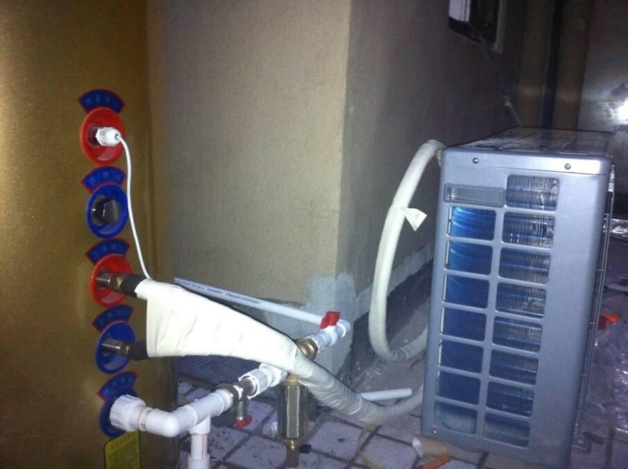 安徽宿州泗县帝康空气能热水器空气能热水工程