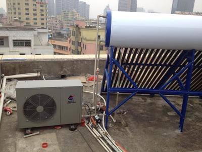 空气能热水器安装案例