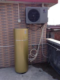 帝康空气能热水器安装案例200升